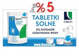 Tabletki solne do stacji uzdatniania wody Soda Polska Ciech Kamsol