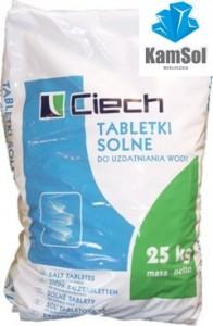 Tabletki solne do stacji uzdatniania wody Ciech Kamsol